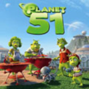 Planet 51: He came from outer space