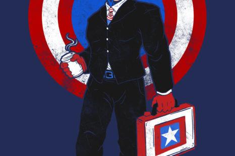 Camiseta Captain corporate America