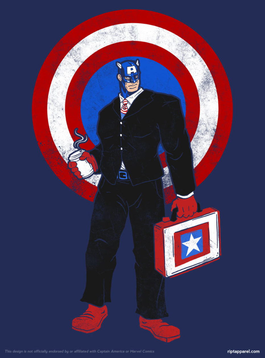 Camiseta Captain corporate America