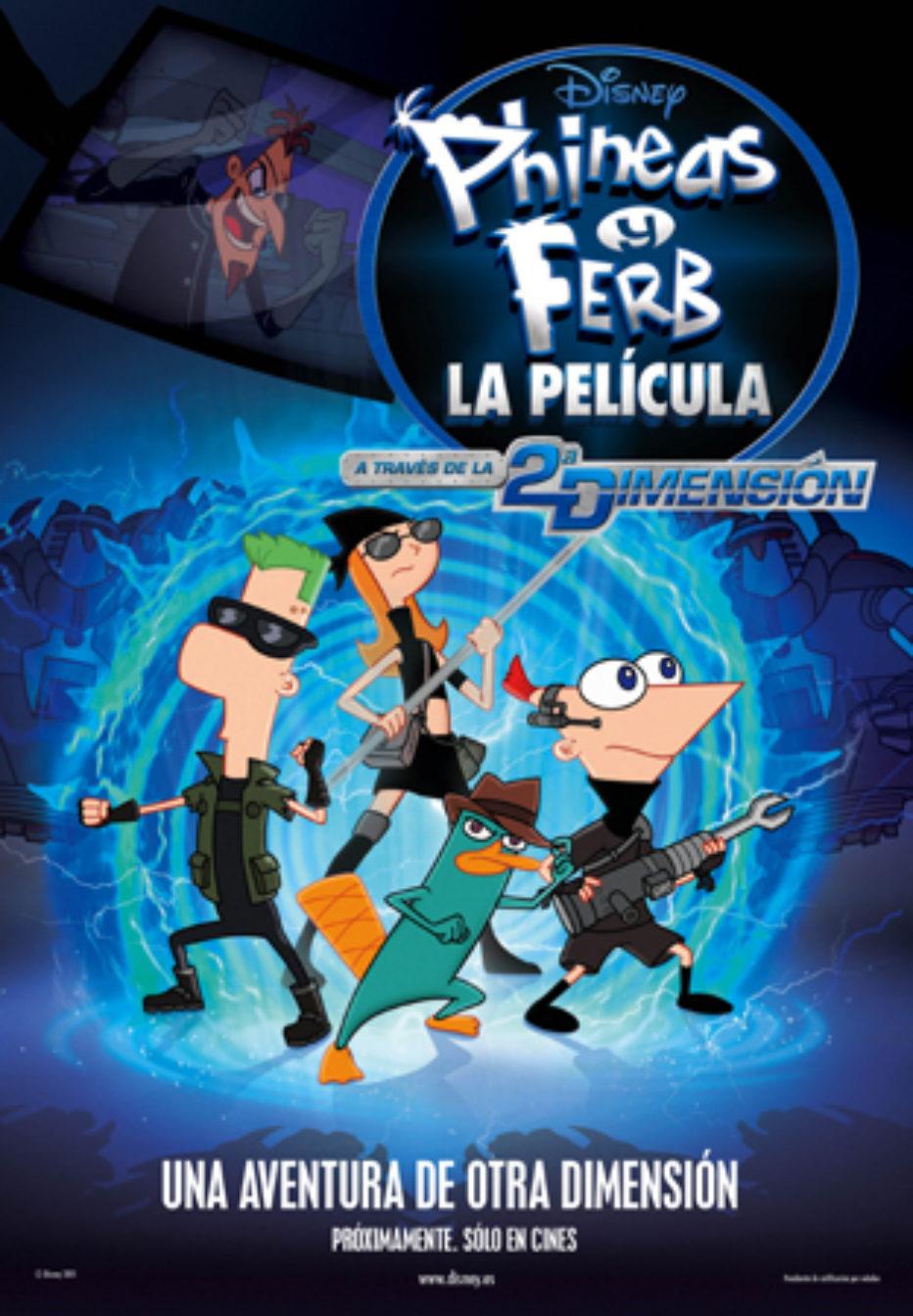 Phineas y Ferb: A través de la segunda dimensión: What if…?