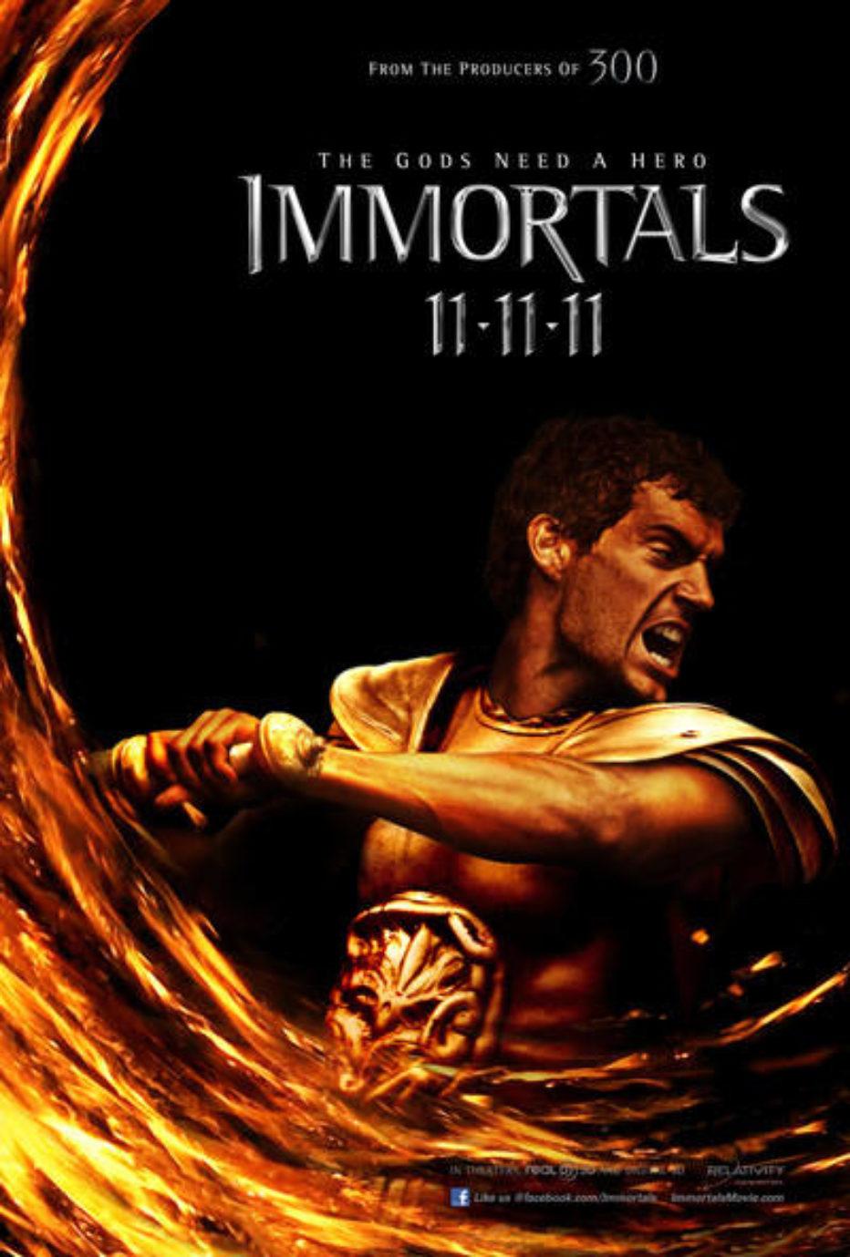 Tweets del día: Inmortals, Melancolía y sets de rodaje
