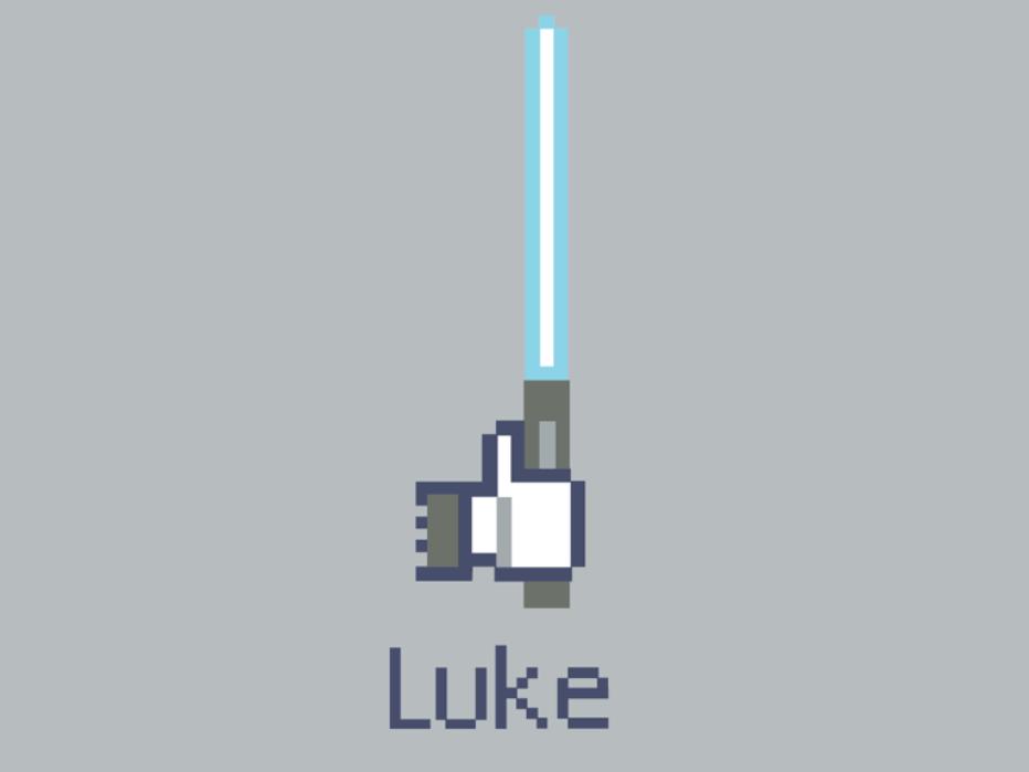 Luke. Camiseta star wars/Facebook