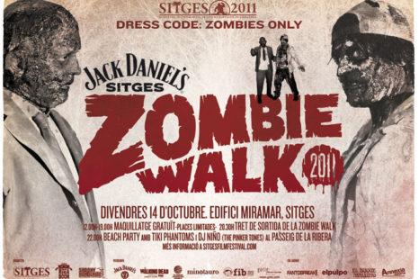 Jack Daniel's Sitges Zombie Walk 2011 se celebrará el viernes 14 de octubre