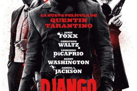 Poster definitivo de Django Desencadenado