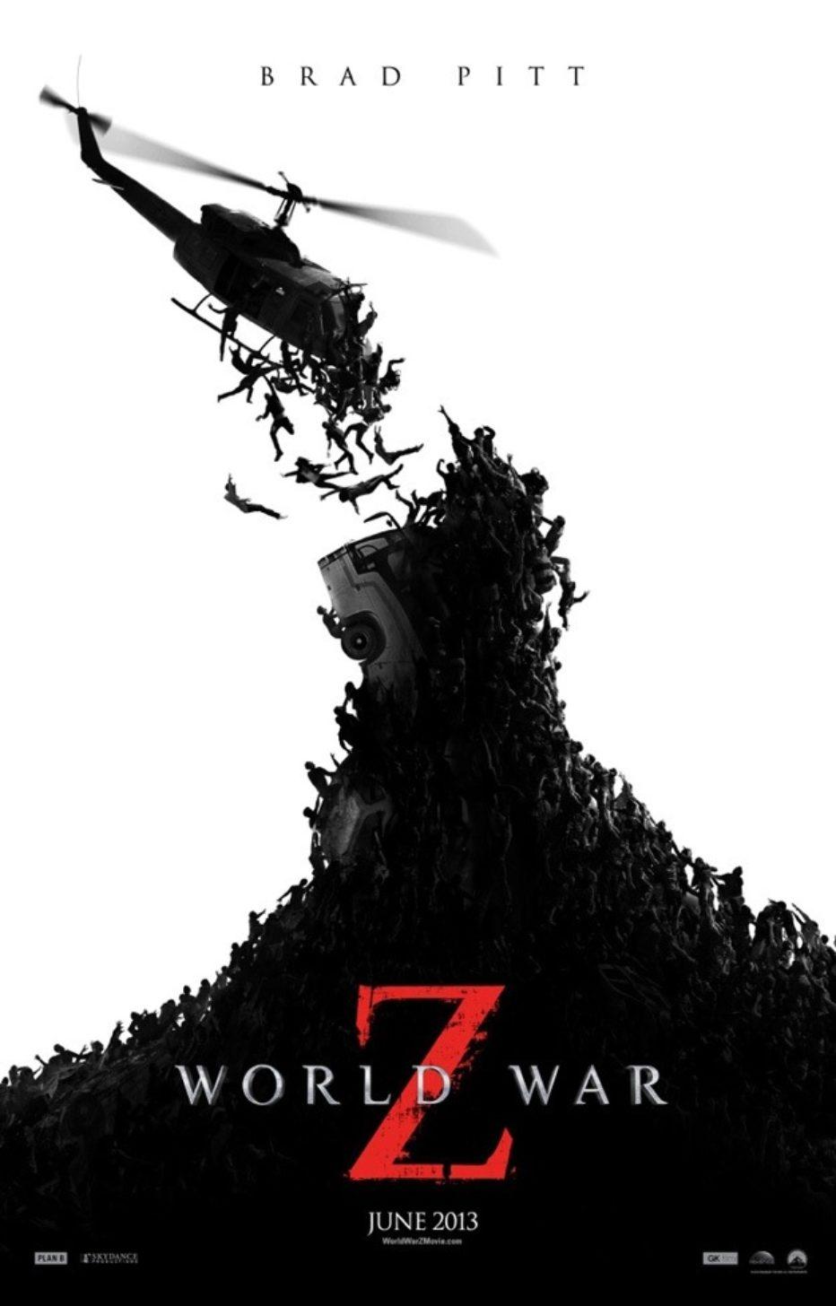 Espectacular poster para World war Z