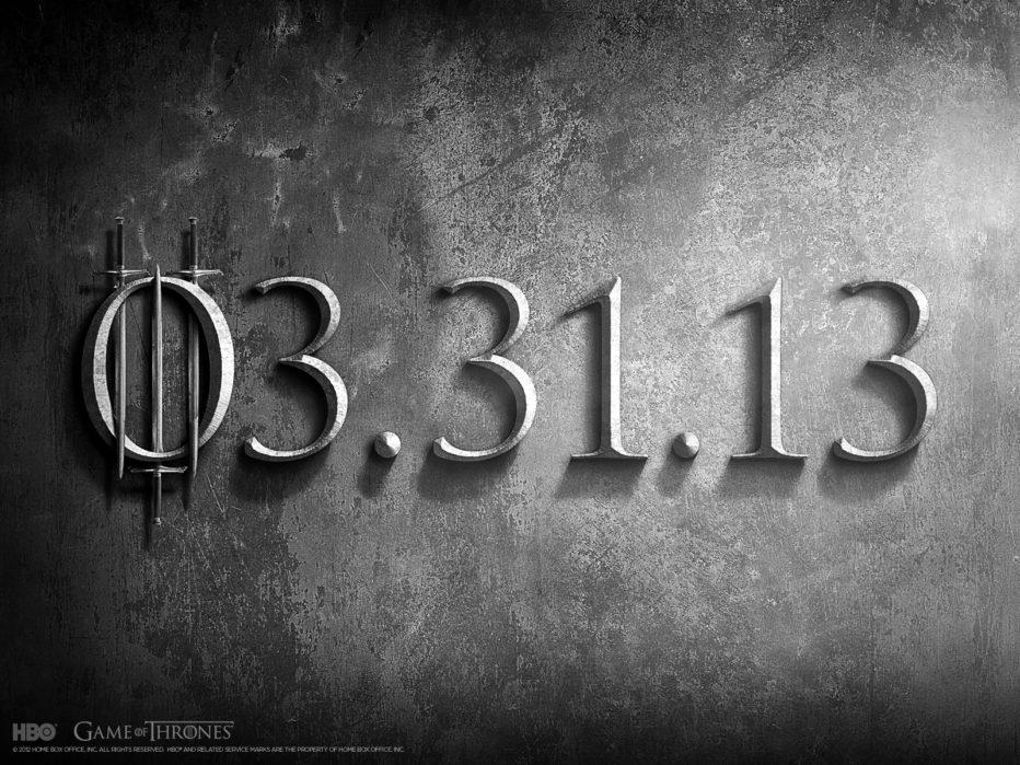Nuevo trailer de Game of thrones: a 10 días del inicio de la 3a temporada