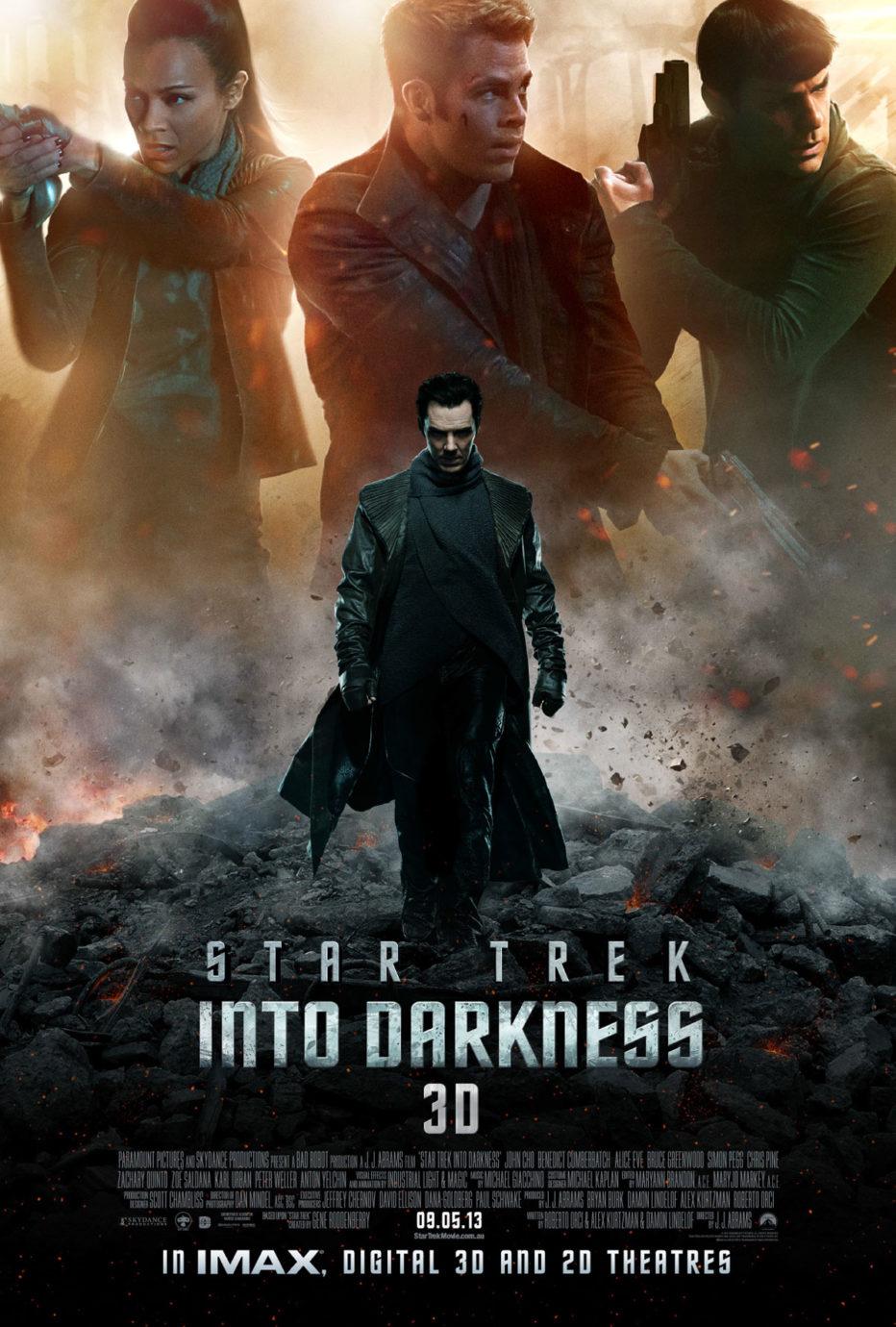 Poster final para Star Trek Into Darkness