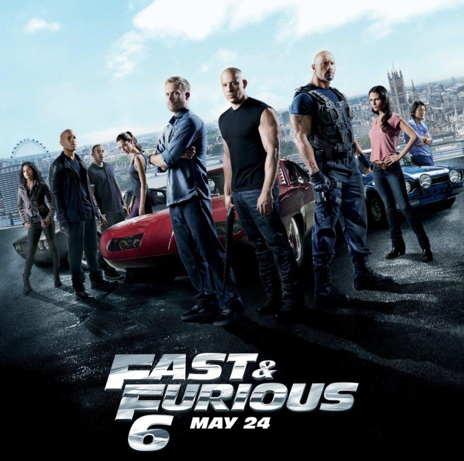 Fast & Furious 6. Más aunque no mejor