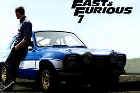 «A TODO GAS 7»: Teaser poster de la nueva entrega.