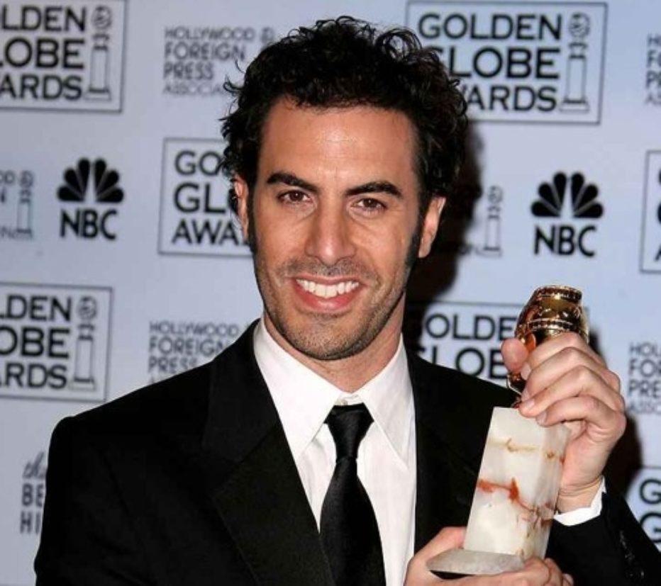Sacha Baron Cohen la lía en los premios Bafta