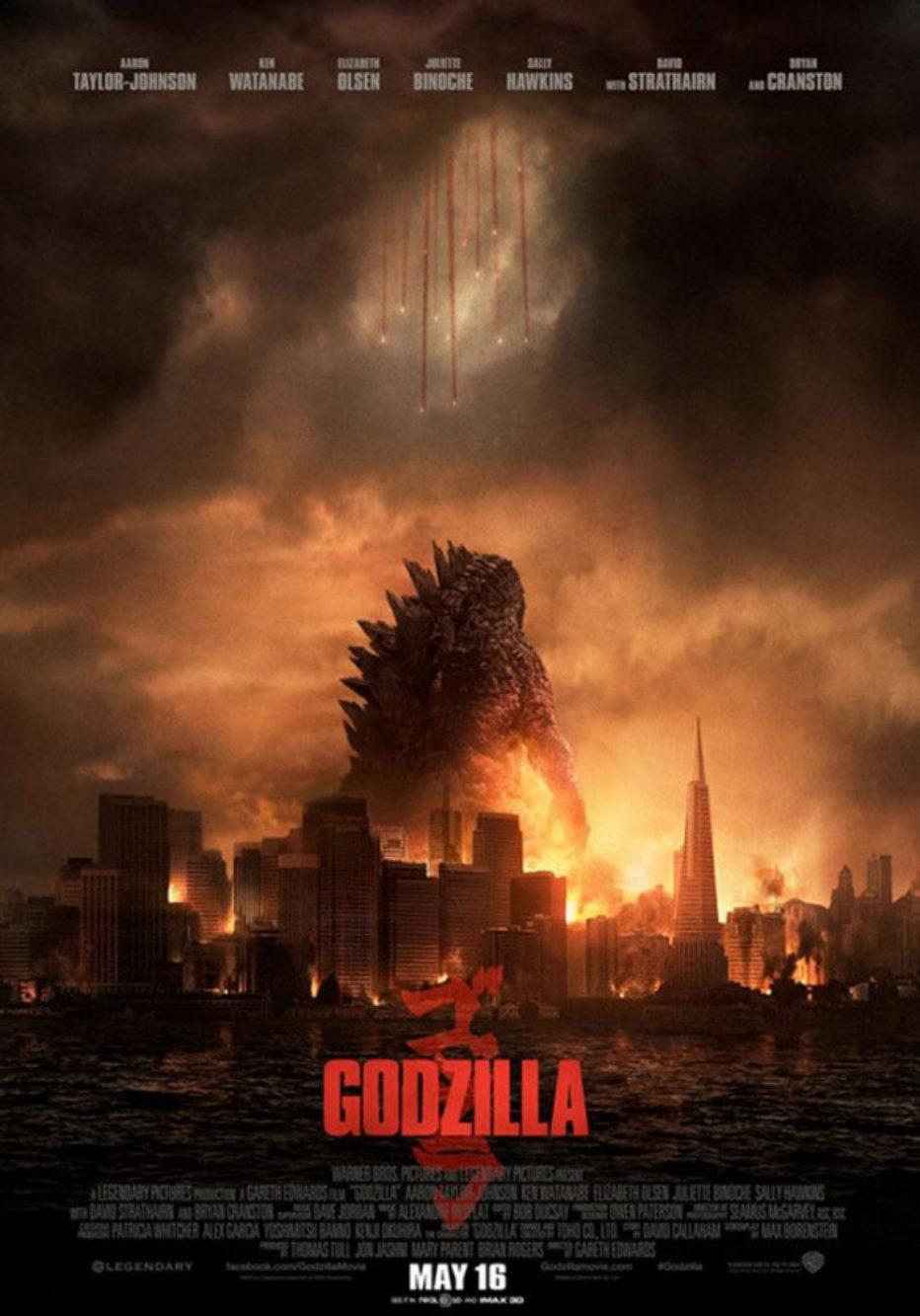 Nuevo poster de Godzilla + portada Empire