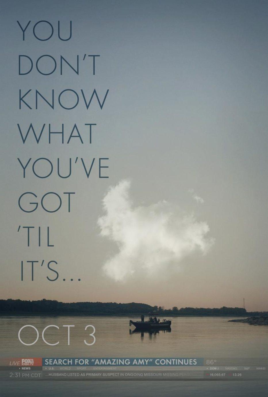 Trailer de Gone Girl – Lo nuevo de David Fincher.