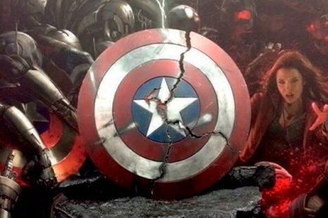 Más sobre Los Vengadores: panel completo, escudo roto y chatarra de Ultron