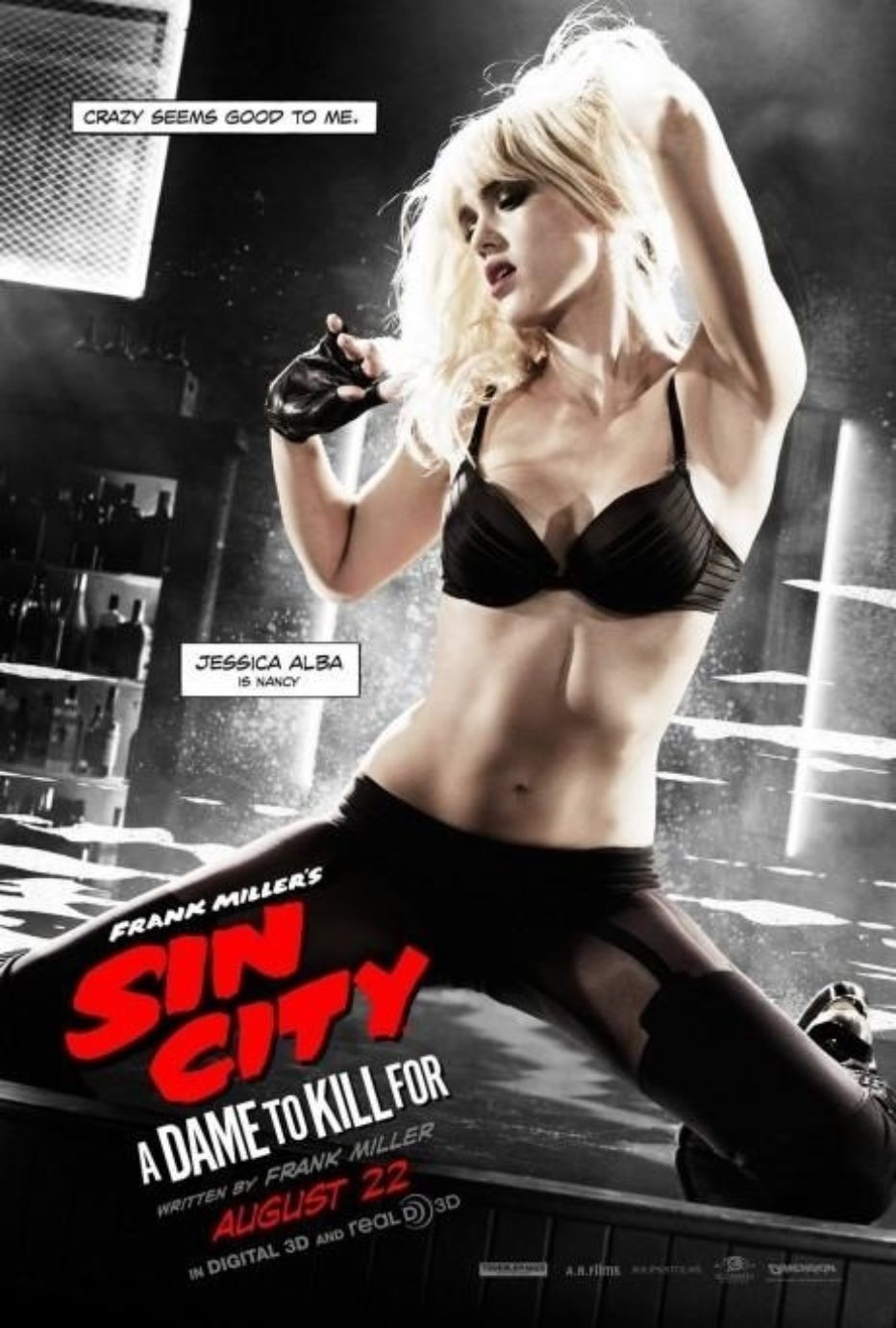 Sin City: una dama por la que matar. El red band trailer de la comic con