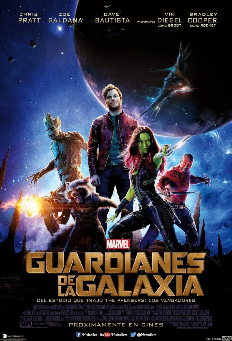 Los Guardianes de la Galaxia: puro entretenimiento
