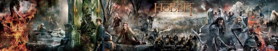 Megaposter de El Hobbit: La batalla de los cinco ejércitos