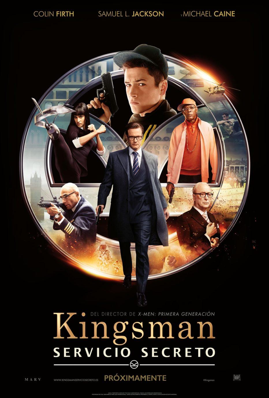 Kingsman: al servicio de su diversión