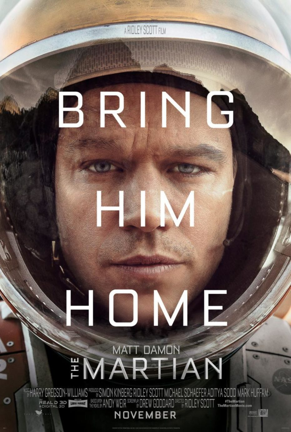 Primer trailer de The Martian de Ridley Scott