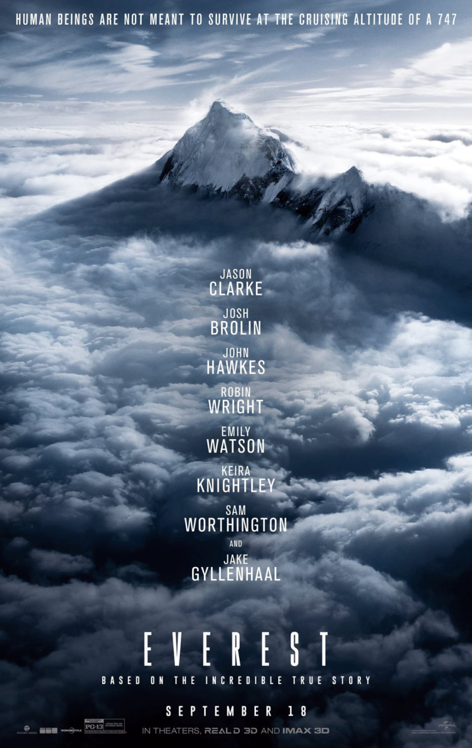 Póster y Primer trailer de Everest