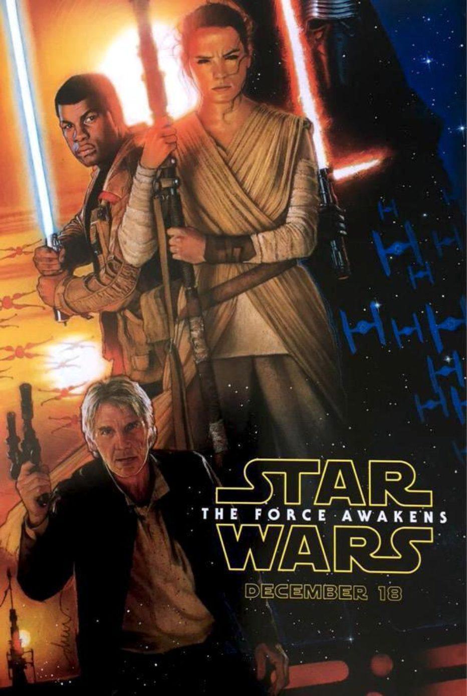 Primer poster de SW : The force Awakens y primera imagen de Rogue one