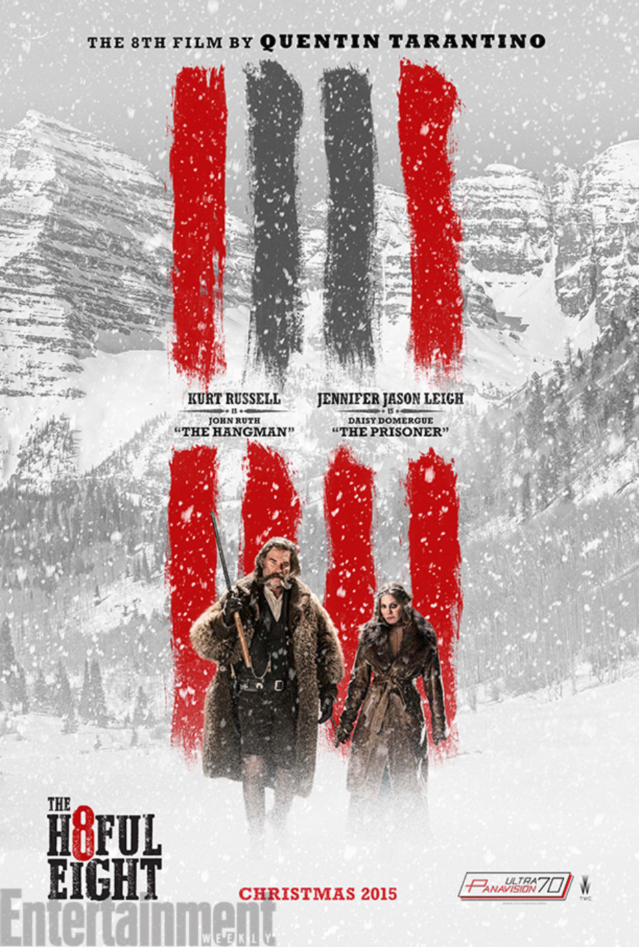 Nuevo trailer de The Hateful Eight de Tarantino