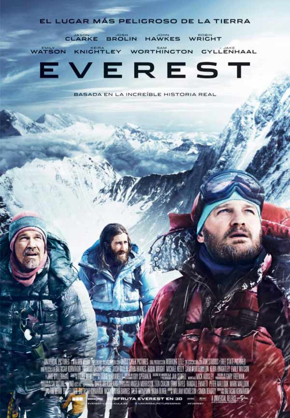 Everest, la cumbre borrascosa