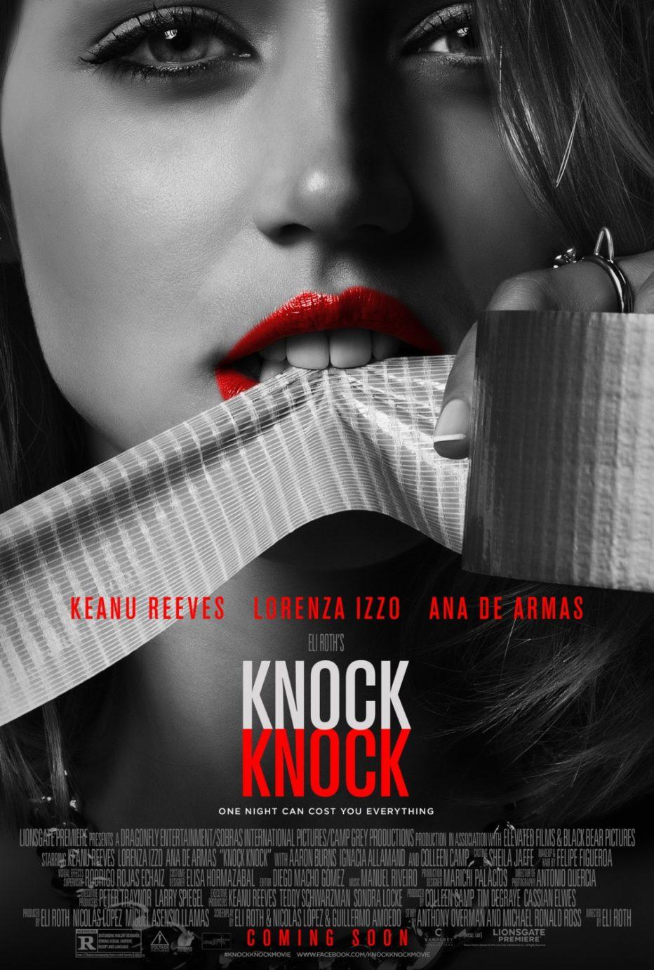 Knock Knock: Trailer y posters de lo nuevo de Eli Roth