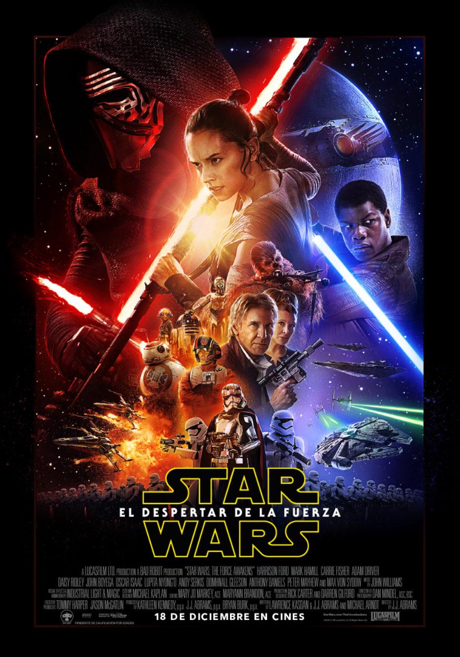 Nuevo poster y fecha oficial para el nuevo trailer de Star Wars: EL DESPERTAR DE LA FUERZA