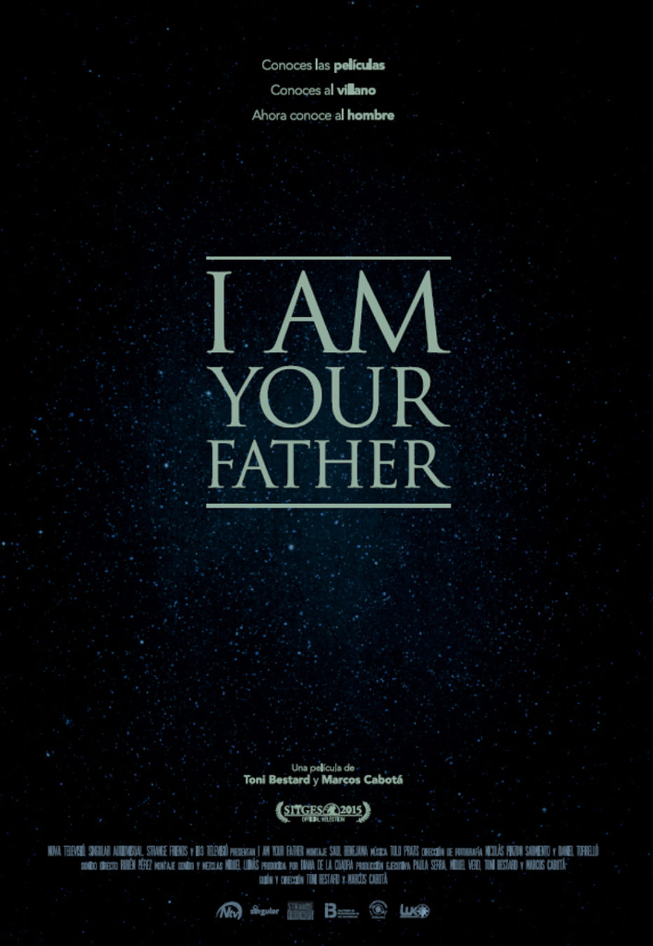 I Am Your Father. Yo soy Darth Vader.