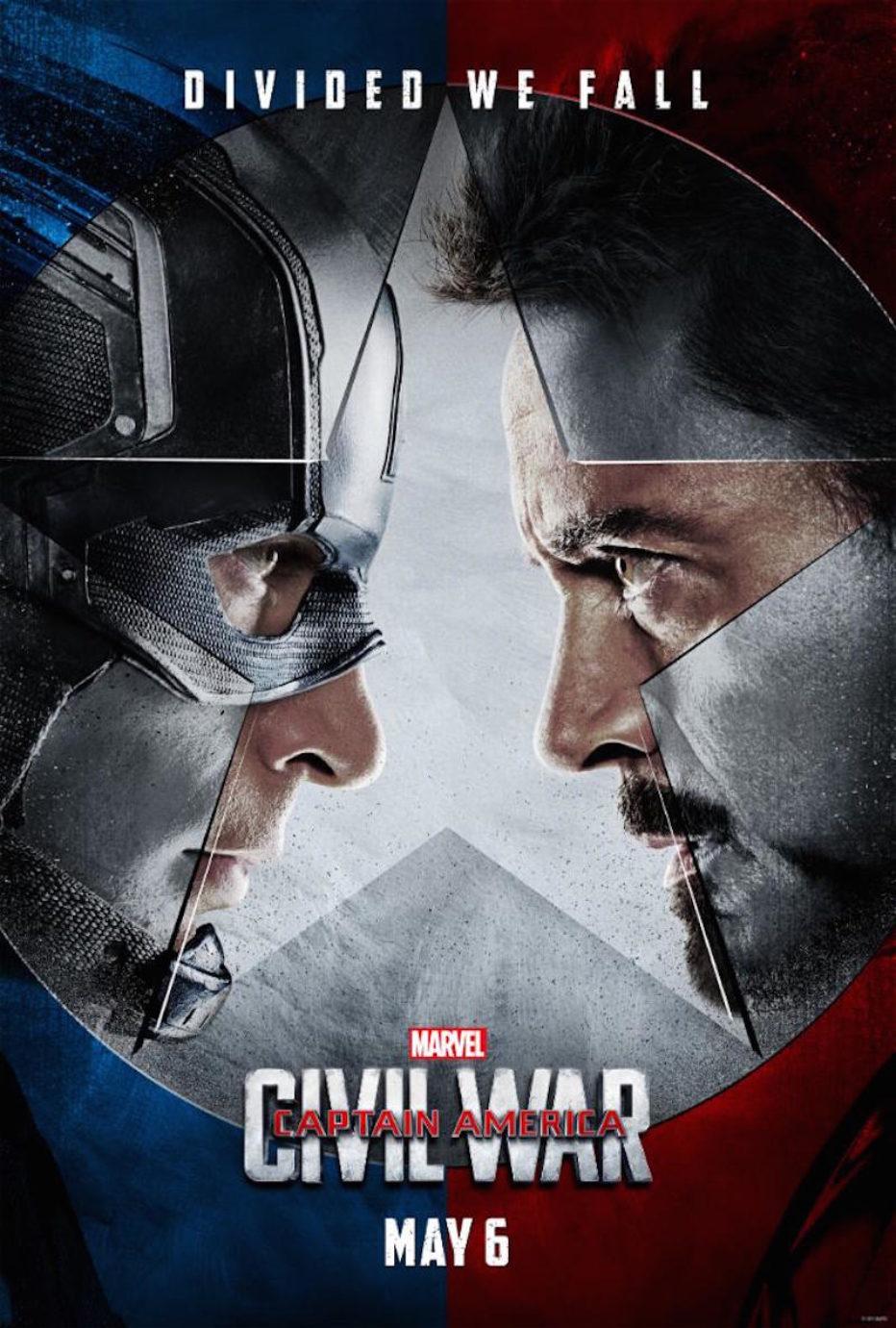 Primer trailer y posters de Capitán América: Civil War