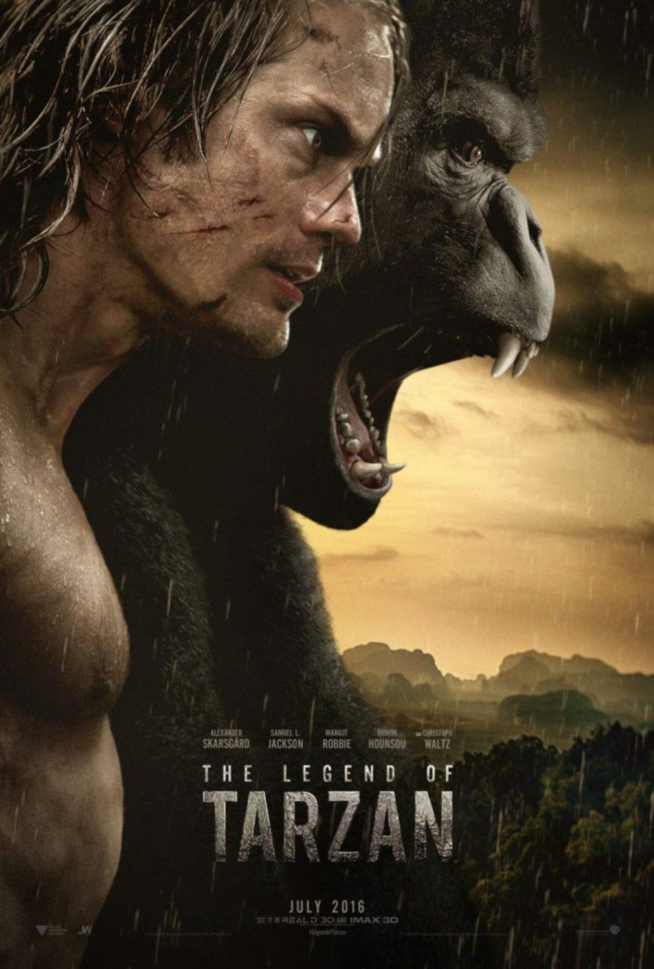 Primer trailer y póster de La leyenda de Tarzán