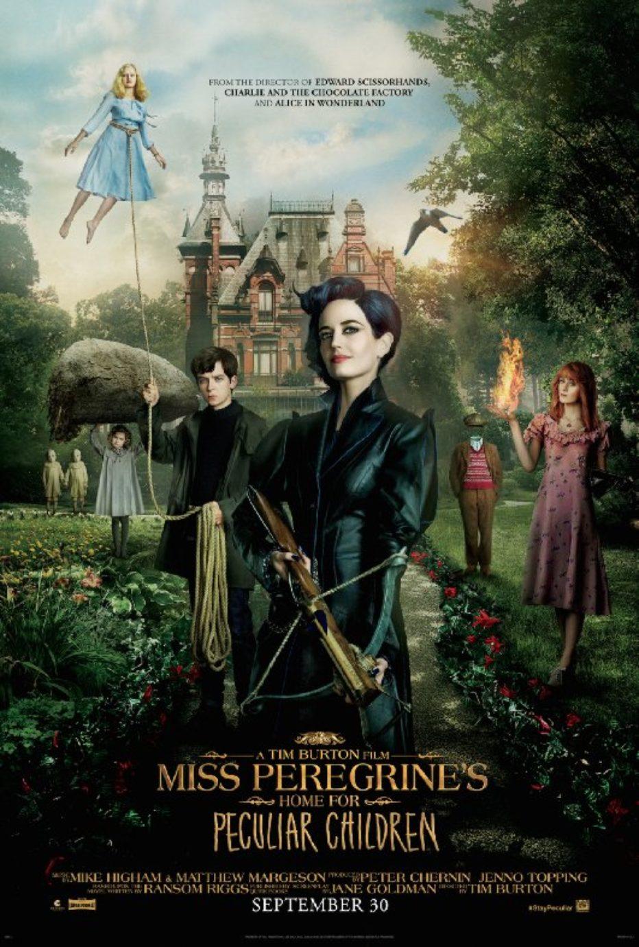 Primer trailer de El hogar de Miss Peregrine para niños peculiares