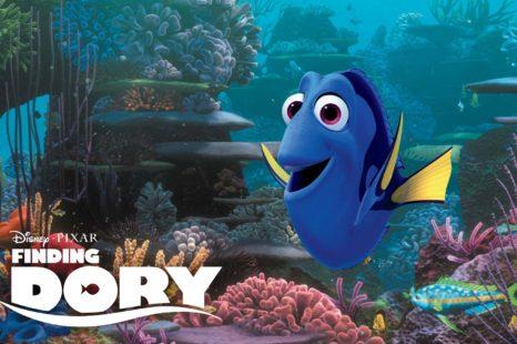 Buscando a Dory: peces refritos