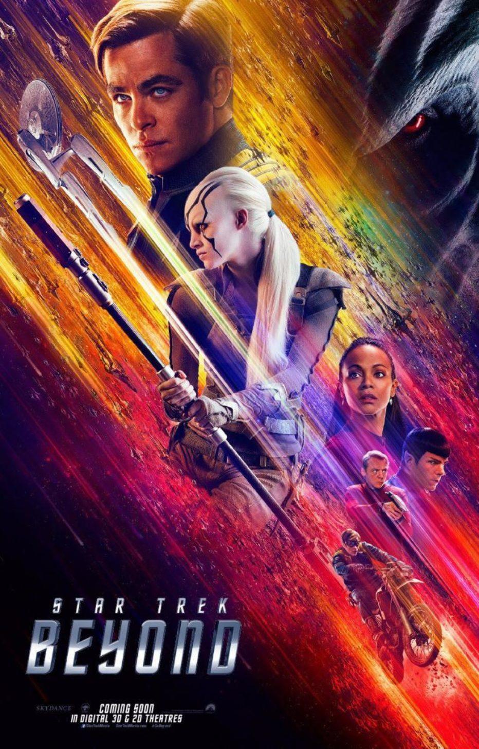 Star Trek: Más allá. Rumbo a los orígenes, señor Spock!