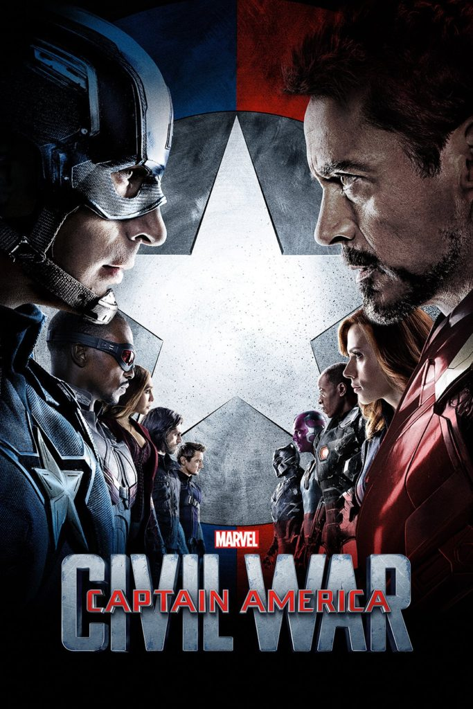 "Poster de la película ""Captain America: Civil War"""