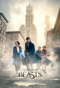 "Poster de la película ""Fantastic Beasts and Where to Find Them"""