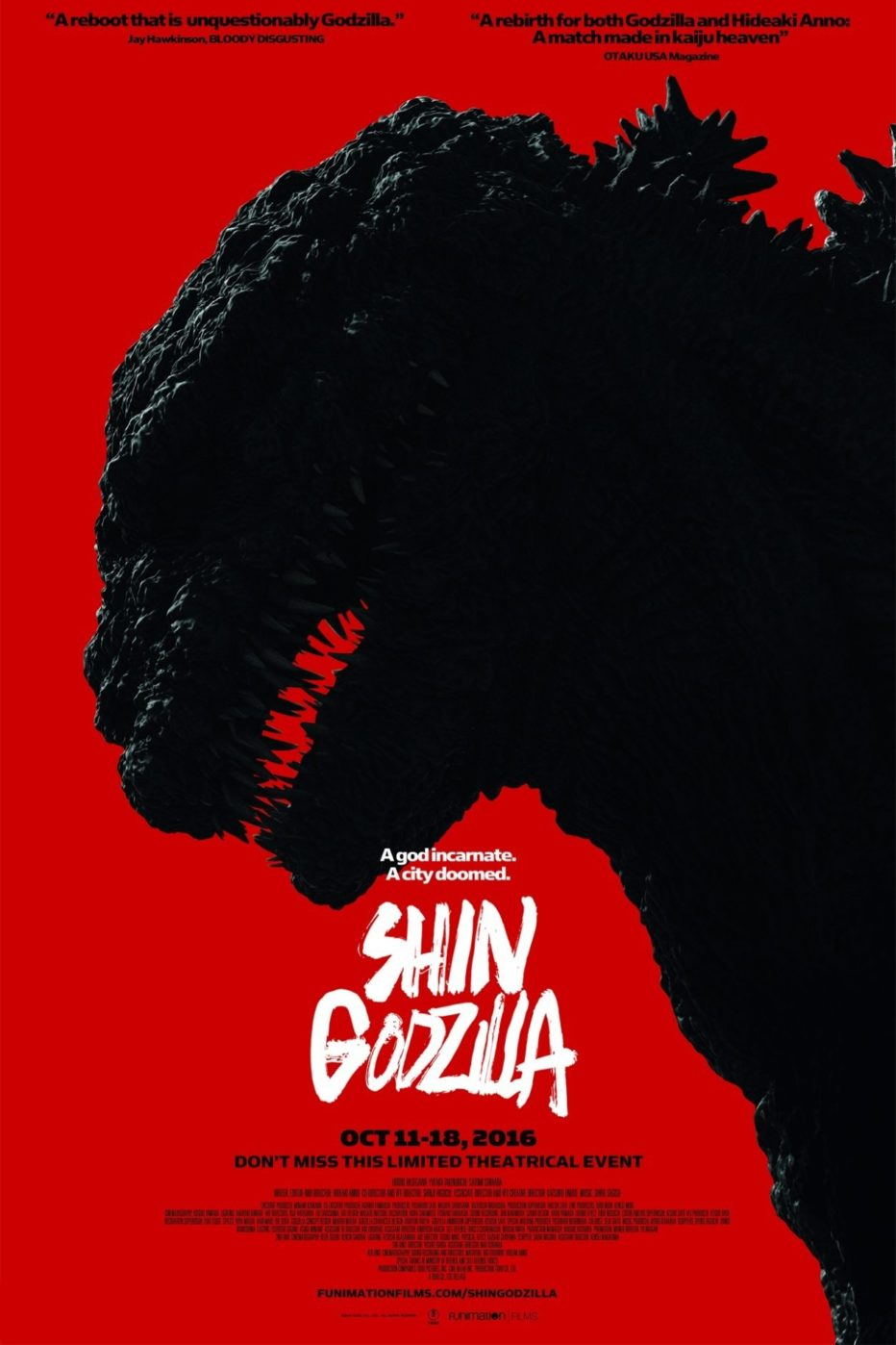 Shin Godzilla #Sitges2016