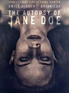 "Poster de la película ""The Autopsy of Jane Doe"""