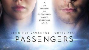 """Poster de la película """"Passengers"""""""