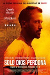 """Poster de la película """"Sólo Dios perdona"""""""