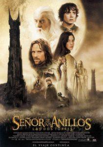 """Poster de la película """"El señor de los anillos: Las dos torres"""""""