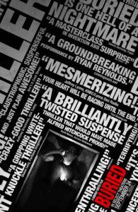 """Poster de la película """"Buried (Enterrado)"""""""