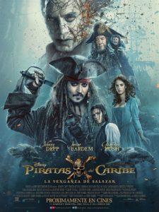 """Poster de la película """"Piratas del Caribe: Los hombres muertos no cuentan cuentos"""""""