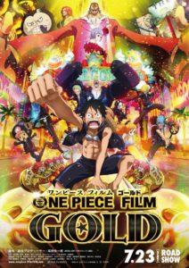 """Poster de la película """"One Piece Película 13: Gold"""""""