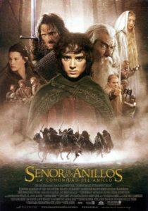 """Poster de la película """"El señor de los anillos: La comunidad del anillo"""""""