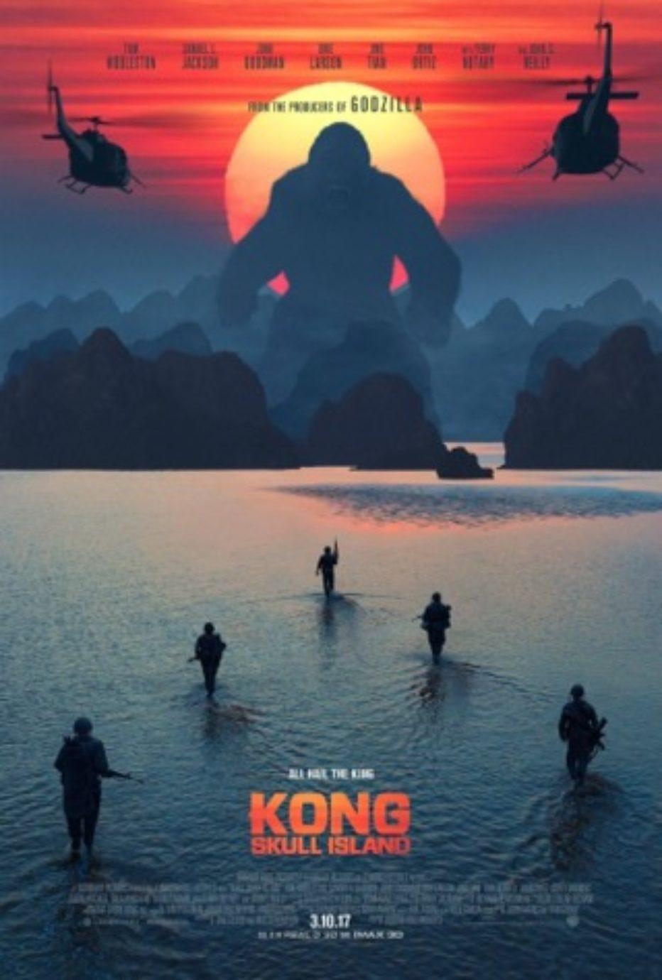 Magníficos posters de Kong: Skull Island y Rogue One