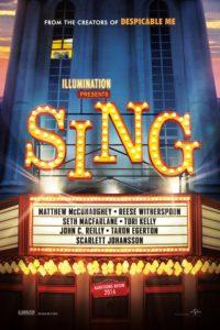 """Poster de la película """"¡Canta!"""""""