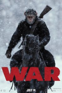 "Poster de la película ""War for the Planet of the Apes"""