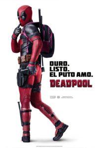 """Poster de la película """"Deadpool"""""""