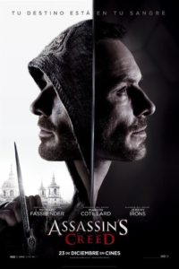 "Poster de la película ""Assassin's Creed"""
